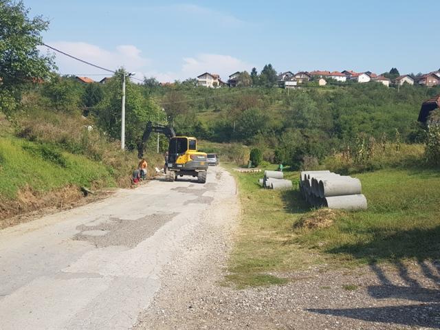 Počeli radovi na rekonstrukciji ulice u MZ Vida 1