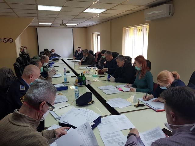 Održana je 4. vanredna sjednica Štaba civilne zaštite Grada Gradačac