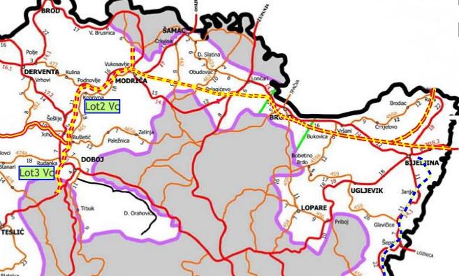Raspisan tender za gradnju autoputa, dionica Vukosavlje – Brčko – Bijeljina