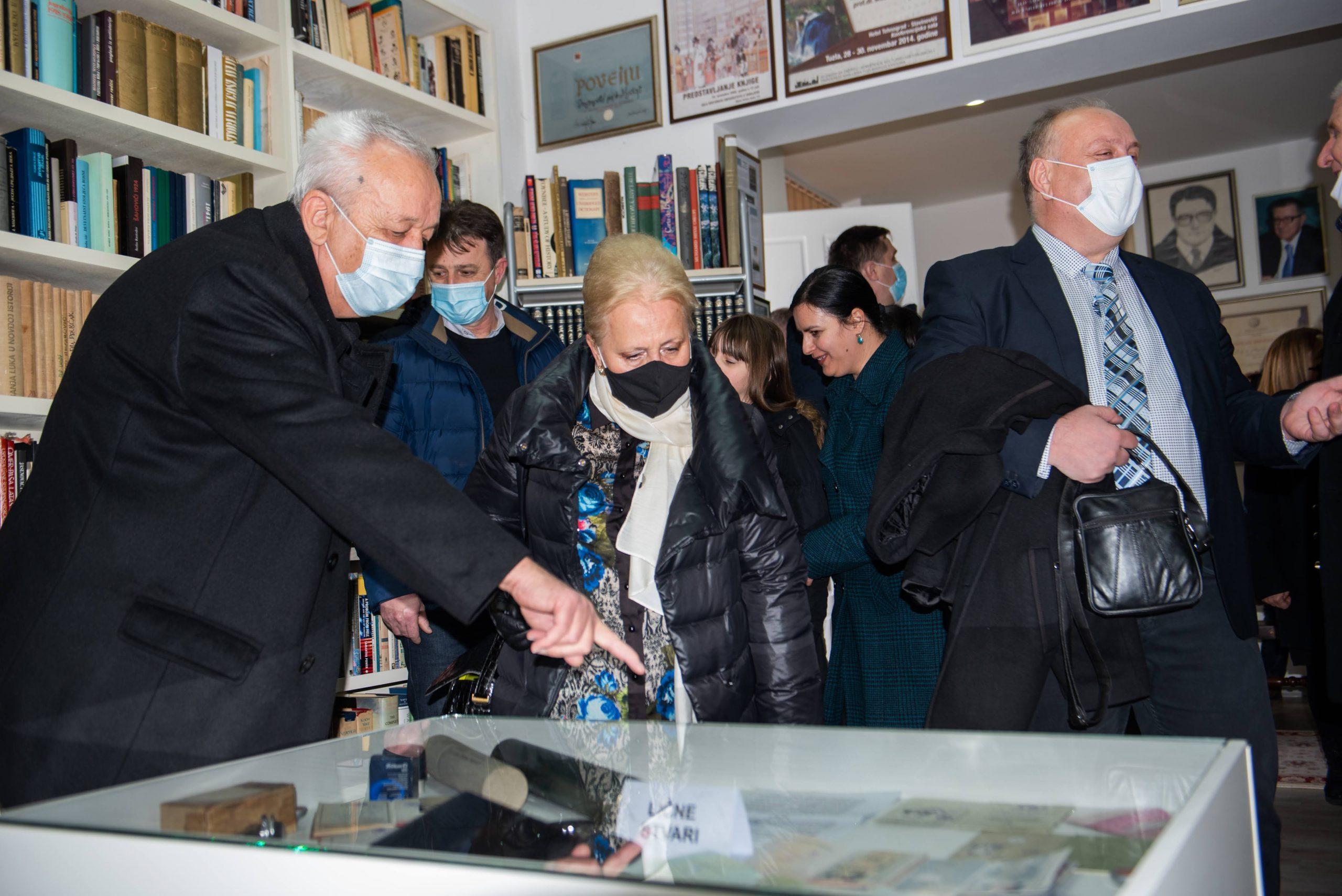 FOTO: U Gradačcu svečano otvorena spomen – soba Mustafe Imamovića