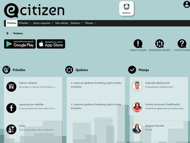 Materijali za 4. redovnu sjednicu Gradskog vijeća Grada Gradačac planiranu za dan 29.04.2021. godine (četvrtak), putem online aplikacije sa početkom rada u 10:00 sati