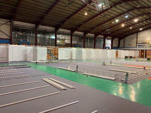 Završne pripreme za otvaranje sajma šljive u Gradačcu